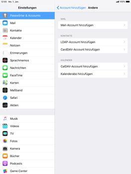 Apple iPad Pro 9.7 inch - E-Mail - Konto einrichten - 6 / 27