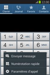 Samsung S6310 Galaxy Young - Messagerie vocale - Configuration manuelle - Étape 5