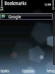 Nokia E75 - internet - hoe te internetten - stap 8