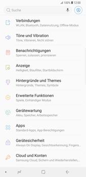 Samsung Galaxy S9 Plus - Netzwerk - Netzwerkeinstellungen ändern - Schritt 4