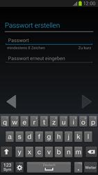 Samsung Galaxy S III LTE - Apps - Einrichten des App Stores - Schritt 10