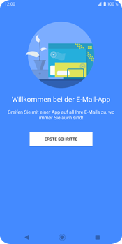 Sony Xperia XZ3 - E-Mail - Konto einrichten - Schritt 4
