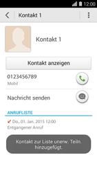 Huawei Ascend Y550 - Anrufe - Anrufe blockieren - Schritt 7