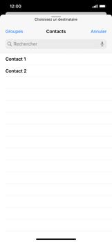 Apple iPhone 11 - E-mail - envoyer un e-mail - Étape 4