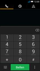 Alcatel OT-7041X Pop C7 - voicemail - handmatig instellen - stap 4