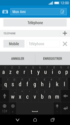 HTC Desire 510 - Contact, Appels, SMS/MMS - Ajouter un contact - Étape 8