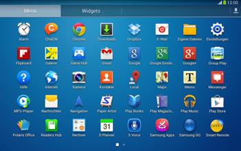 Samsung P5220 Galaxy Tab 3 10-1 LTE - E-Mail - Konto einrichten - Schritt 3