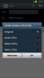 Samsung Galaxy S III - OS 4-1 JB - E-Mail - E-Mail versenden - 2 / 2