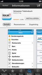 Apple iPhone 5 - Apps - Installieren von Apps - Schritt 7