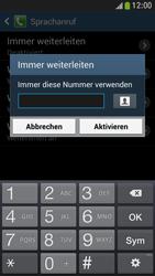 Samsung Galaxy S4 Mini LTE - Anrufe - Rufumleitungen setzen und löschen - 10 / 12