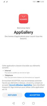 Huawei Y6P - Applications - Créer un compte - Étape 4