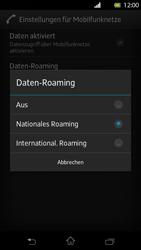Sony Xperia T - Ausland - Im Ausland surfen – Datenroaming - 2 / 2