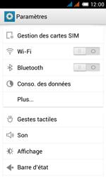 Alcatel One Touch Pop C3 - Internet et roaming de données - Comment vérifier que la connexion des données est activée - Étape 4