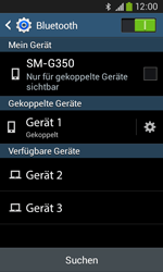 Samsung Galaxy Core Plus - Bluetooth - Geräte koppeln - 0 / 0