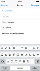 Apple iPhone 5c - E-mails - Envoyer un e-mail - Étape 8