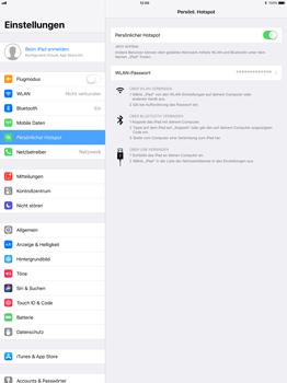 Apple iPad Pro 12.9 inch - Internet - Mobilen WLAN-Hotspot einrichten - 9 / 9