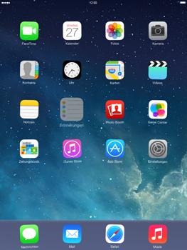 Apple iPad mini iOS 7 - Startanleitung - Personalisieren der Startseite - Schritt 3