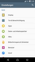 Sony Xperia XA - Anrufe - Rufumleitungen setzen und löschen - 4 / 9