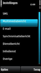 Nokia X6-00 - MMS - handmatig instellen - Stap 22