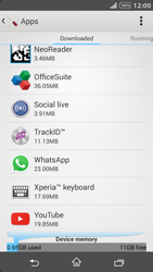 Sony Xperia Z1 - Applications - How to uninstall an app - Step 5