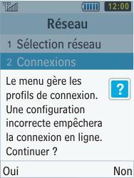 Samsung C3350 Xcover 2 - MMS - Configuration manuelle - Étape 6