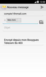 Bouygues Telecom Bs 403 - E-mails - Envoyer un e-mail - Étape 8