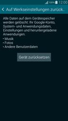 Samsung Galaxy Alpha - Fehlerbehebung - Handy zurücksetzen - 1 / 1