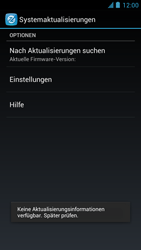 Alcatel One Touch Idol - Software - Installieren von Software-Updates - Schritt 7