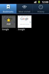 Samsung S7500 Galaxy Ace Plus - Internet - Internet browsing - Step 7