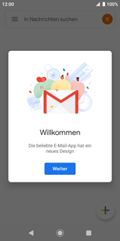 Sony Xperia XZ2 - Android Pie - E-Mail - Konto einrichten (gmail) - Schritt 15