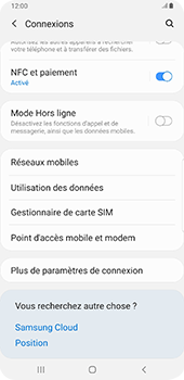 Samsung Galaxy Note9 - Android Pie - WiFi - Comment activer un point d'accès WiFi - Étape 5