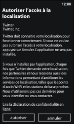 Nokia Lumia 800 / Lumia 900 - Applications - Configuration de votre store d
