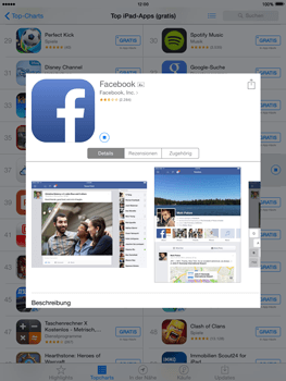 Apple iPad mini - iOS 8 - Apps - Einrichten des App Stores - Schritt 27
