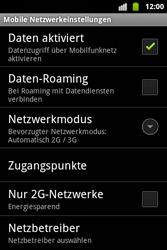 Alcatel OT-983 - Netzwerk - Manuelle Netzwerkwahl - Schritt 13