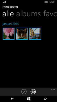 Microsoft Lumia 640 XL - MMS - Afbeeldingen verzenden - Stap 9
