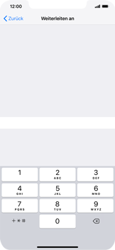 Apple iPhone XS Max - Anrufe - Rufumleitungen setzen und löschen - Schritt 7