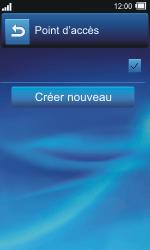 Sony TXT Pro - Internet - Configuration manuelle - Étape 10