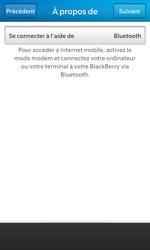 BlackBerry Z10 - Internet et connexion - Utiliser le mode modem par USB - Étape 9