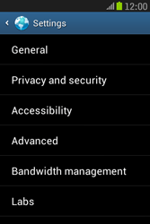 Samsung S6310 Galaxy Young - Internet - Manual configuration - Step 22