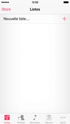 Apple iPhone 5c (iOS 8) - Photos, vidéos, musique - Ecouter de la musique - Étape 3