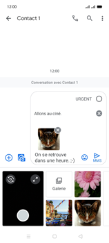 Oppo A15 - Contact, Appels, SMS/MMS - Envoyer un MMS - Étape 21