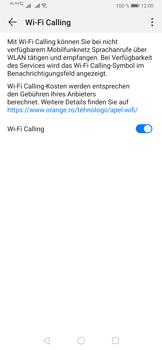 Huawei P30 - WiFi - WiFi Calling aktivieren - Schritt 9