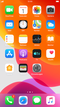 Apple iPhone 6s Plus - iOS 13 - Anrufe - Anrufe blockieren - Schritt 2