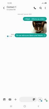 Samsung Galaxy A21s - Contact, Appels, SMS/MMS - Envoyer un MMS - Étape 22