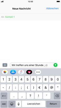 Apple iPhone 8 Plus - iOS 12 - MMS - Erstellen und senden - Schritt 10