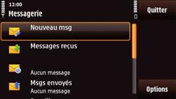 Nokia N97 Mini - E-mail - Configuration manuelle - Étape 4