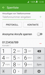 Samsung J120 Galaxy J1 (2016) - Anrufe - Anrufe blockieren - Schritt 11