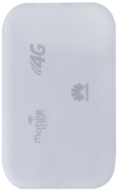 Huawei E5372 - Premiers pas - Noter les codes Wi-Fi - Étape 2