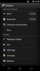 Sony LT30p Xperia T - Wifi - configuration manuelle - Étape 3