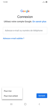 Samsung Galaxy A10 - Applications - Créer un compte - Étape 6